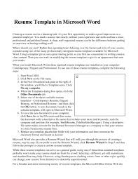 resume examples microsoft word resume layout resume templates examples of resumes resume format hr templates sample best how