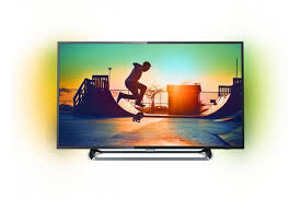 ЖК <b>Телевизор</b> Ultra HD <b>Philips 55PUS6262</b> 55 дюймов (<b>черный</b> ...