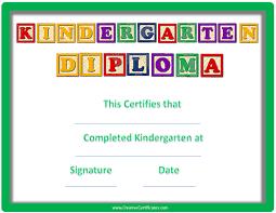 kindergarten graduation certificates kindergarten graduation middot kindergarten graduation certificate