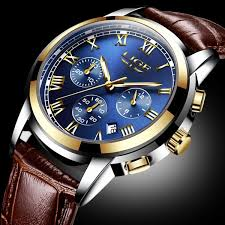 <b>LIGE Men's</b> Fashion Quartz <b>Watch Mens Watches Top</b> Brand Luxury ...