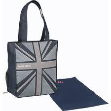 <b>Сумка для мамы Maclaren</b> Magazine Tote Denim Flag SDN45012 ...