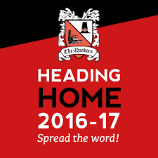 why not join the dfc club darlington football club heading home 2016 17 logo club badge