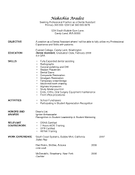 student entry level dental assistant resume template eager world it