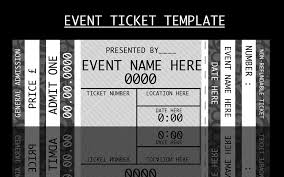 event ticket template by for certain crafts art event ticket template by for certain crafts art templates and ticket template