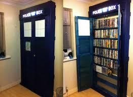 Functional Homemade TARDISes   Mental Floss   Bookcase