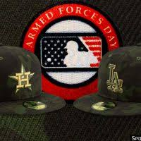 <b>Camouflage</b> Across MLB All Weekend For Armed Forces Day <b>2019</b> ...