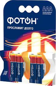 <b>Батарейка Фотон LR03 ААА</b> 4шт. купить в интернет-магазине ...