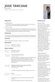 marketing intern resume samples marketing internship resume samples