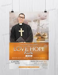 hope faith church psd flyer template net a good flyer template