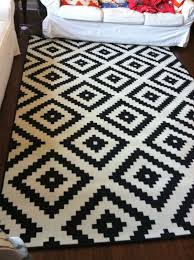 home chic raleigh ikea rug black and white rug black and white ikea black white rug home