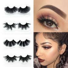 <b>YSDO 5 pairs eyelashes</b> natural long mink eyelashes hand made 3d ...