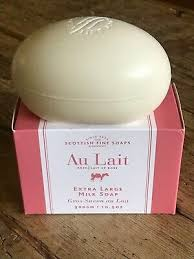 Scottish Fine Soaps ROSE <b>Scent</b> XLg luxury <b>bar</b> soap 10.5oz <b>300g</b> ...
