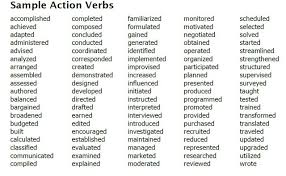 strong verbs for resume   awesome christmas momentstrong verbs for resume writing