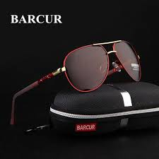 The <b>BARCUR Luxury sunglasses</b> have high-quality anti-reflective ...