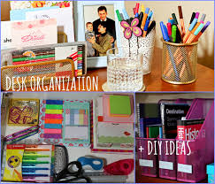 Home Office Desk Organization Diy Ideas Back To School Youtube For Office Space Design