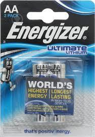 ᐉ <b>Батарейки</b> Energizer Ultimate Lithium <b>AA</b> 2 шт. • Купить в Киеве ...
