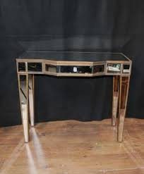 art deco mirror console table mirrored hall tables furniture art deco mirrored furniture