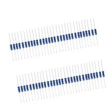 <b>50pcs 1W</b> Resistor Kit 4.7K Ohm <b>Metal Film</b> Resistors Assortment ...