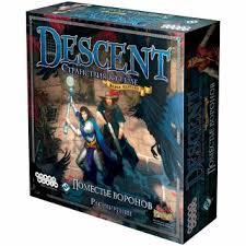 Descent. Поместье <b>Воронов</b> | Игры оптом, издательство Hobby ...