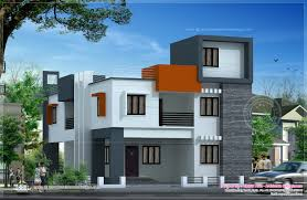 Trend Flat Roof Design For A Contemporary Looks On Modern Home    modern house flat contemporary house plans flat flat roof modern house