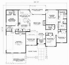 Tuscan Style House Plans   Plan   Main Floor Plan