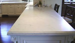 countertops popular options today:  marble countertop with custom edge
