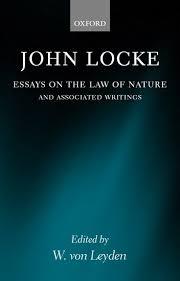 essays on the law of nature   john locke   oxford university press
