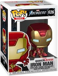<b>Фигурка</b> Funko POP! Bobble: <b>Marvel</b>: <b>Avengers</b> Game: Iron Man ...