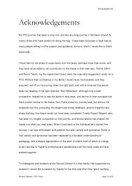 Acknowledgements Richard Osborne   PhD Thesis