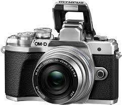 <b>Фотоаппарат Olympus OM-D E-M10</b> III kit 14-42 II R, серебро ...