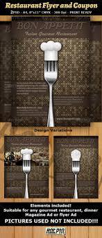 restaurant magazine ad or flyer template v fonts flyer coupon design middot restaurant magazine ad or flyer template