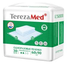 <b>Пеленки одноразовые TerezaMed</b> Normal 60x90, 30 шт. — купить ...