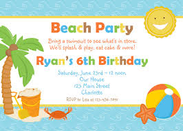 templates beach party invitation wording samples examples of beach party invitation wording samples