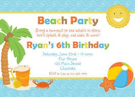 templates beach party invitation wording samples examples of beach party invitation wording samples