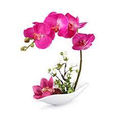 Louis Garden Artificial Silk Flowers 7 Head Simulation <b>Phalaenopsis</b>