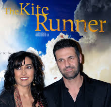 khaled hosseini m d academy of achievement khaled hosseini and his wife roya at the premiere of the kite runner in hollywood
