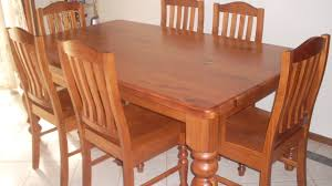 Dining Room Tables Used Brilliant Gorgeous Vintage Brown Wood Carved Dining Table With