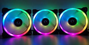 Обзор на комплект <b>вентиляторов Thermaltake Riing</b> Trio 12 RGB ...