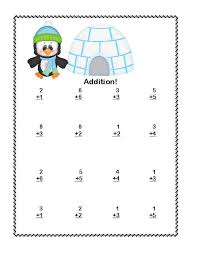 Math Addition & Subtraction Within 20 Worksheets- Penguins and ...Math Addition & Subtraction Within 20 Worksheets- Penguins and Polar Bears