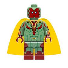 ⑥Vision Avengers Infinity War Figure Set Thanos Hulk Iron <b>Man</b> ...