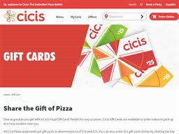 CiCi's Pizza | Gift Card Balance Check | Balance Enquiry, Links ...