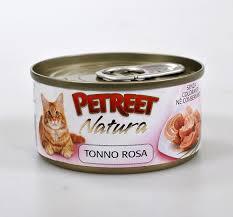 <b>Консервы Petreet Natura кусочки</b> розового тунца 70 г - купить в ...