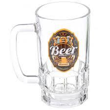 <b>Кружка пивная</b> стеклянная Декостек Пейте пиво 1040-Д, 450 мл в ...