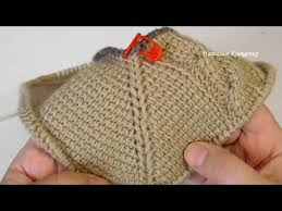Crochet without a seam. Invisible seam on the reverse and <b>front side</b> ...