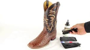 How To Clean Exotic Cowboy <b>Boots</b> - YouTube