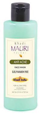 Khadi Mauri <b>Herbal Anti Acne Face</b> Wash - Fights Pimples ...