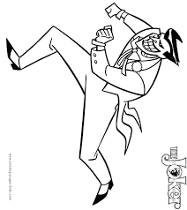 Small Picture joker coloring pages joker holding batman in tube coloring page h