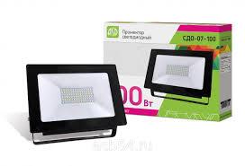 Купить <b>Прожектор СДО</b>-<b>07</b>-<b>100</b> сд чёрный IP65 <b>ASD</b> оптом и в ...