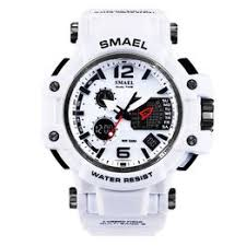 SMAEL Brand White Military Men Sport Watch LED Digital ... - Vova