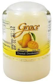 Купить Grace <b>дезодорант</b>, <b>кристалл</b> (<b>минерал</b>), Mango, 40 г по ...